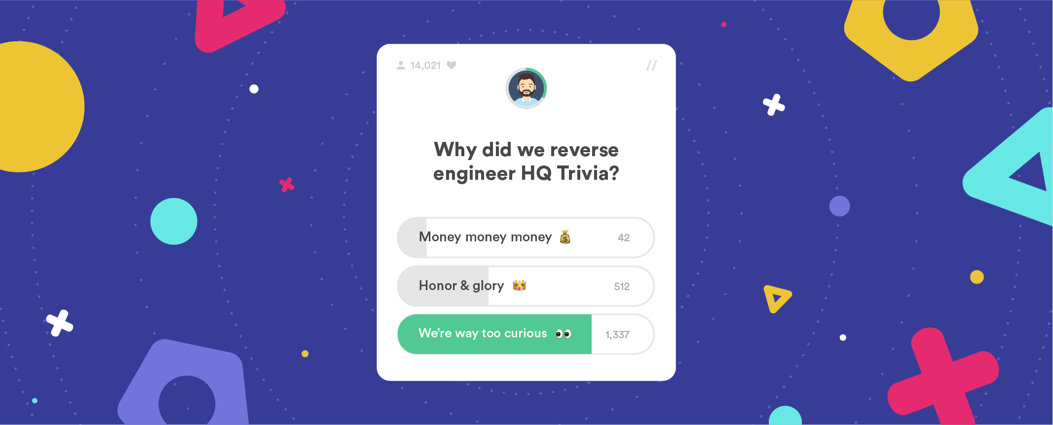 HQ Trivia reverse engineering | FABERNOVEL